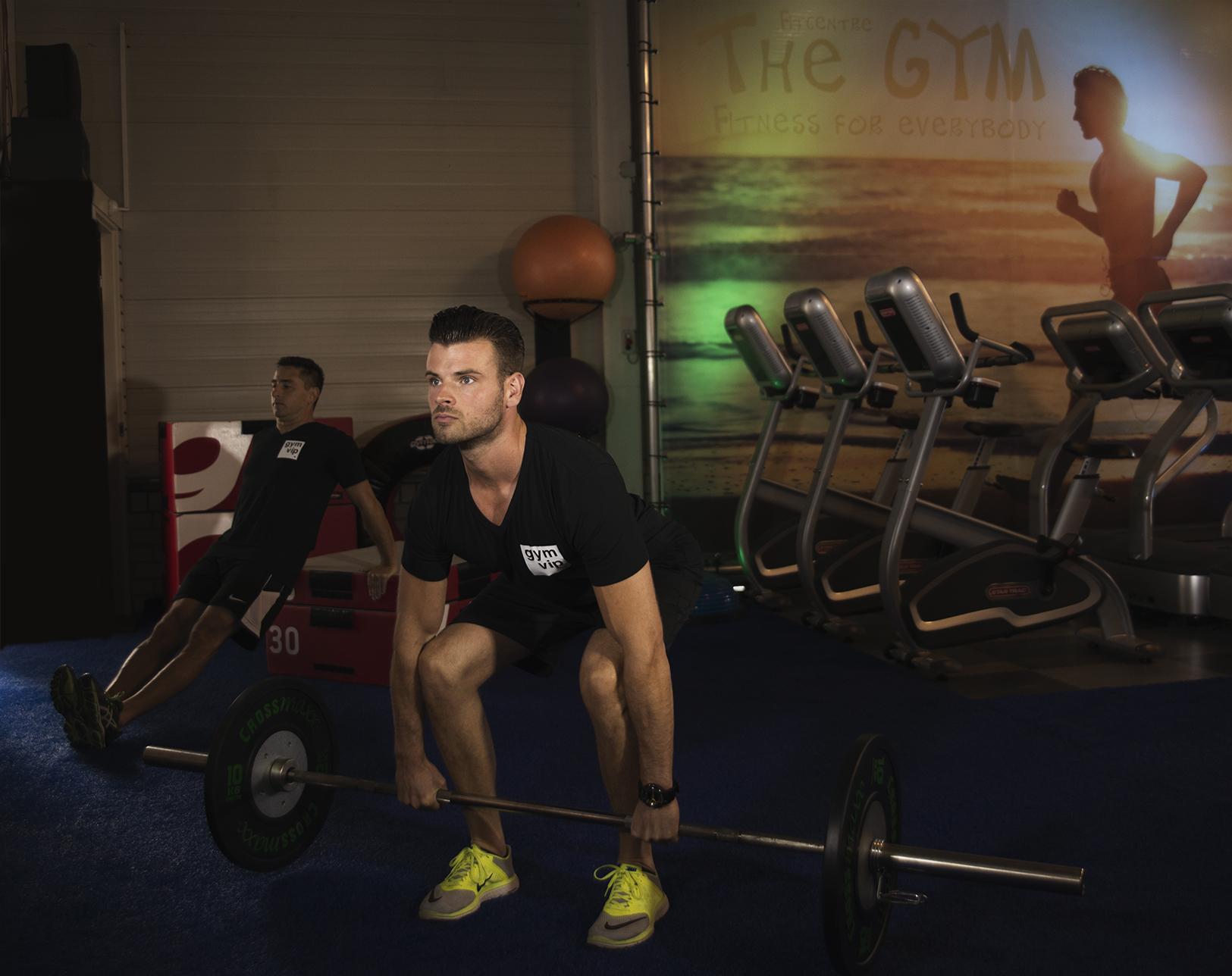 Gym VIP, sportschool, fitness, gewicht heffen